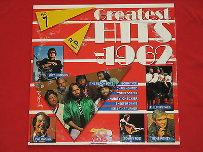 Greatest Hits Of 1962 - DoLP  (mint) The Beach Boys / The Crystals / Tommy Roe