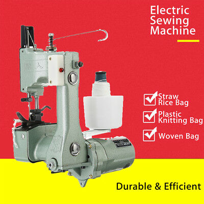 110V-220V Industrial Portable Bag Closer Sack Closing Stitching Sewing Machine