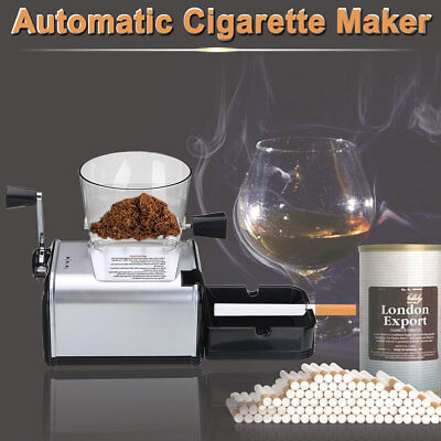 Electric Automatic Cigarette Rolling Machine Tobacco Roller Maker DIY EU Plug