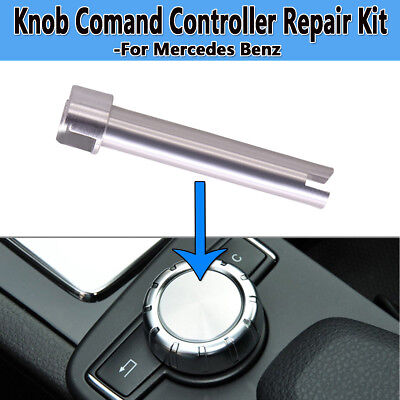 For Mercedes Console Comand Controller Knob Switch Push-Button Shaft Repair Kit