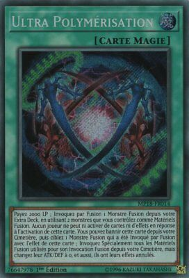 YUGIOH Ultra Polymérisation (Fusion) : MP18-FR014 -VF/Secret Rare-