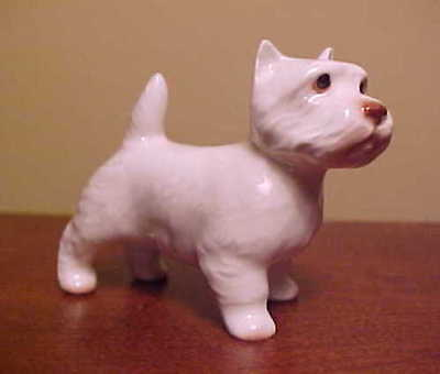 Hagen-Renaker Mini #3135 WEST HIGHLAND TERRIER - Miniature Ceramic Dog Figurine