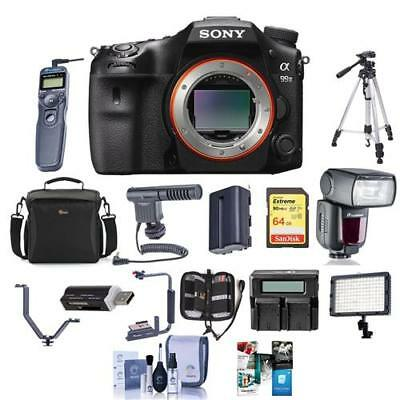 Sony Alpha a99 II DSLR Body With Pro Accessory Bundle #ILCA-99M2 C