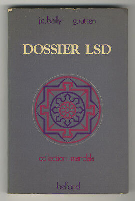 DOSSIER LSD controcultura TIMOTHY LEARY William Burroughs ALLEN GINSBERG 1974