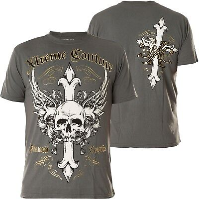 XTREME COUTURE BY AFFLICTION Tank Top Exhaust Pipe Grau Herren