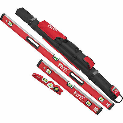 "Milwaukee MLBXC48 10"", 24"", 48"" Redstick Level Starter Set"