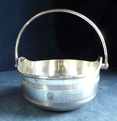 GOOD ~ Mappin & Webb ~ SILVER Plated ~ Bon-Bon BOWL ~ c1920