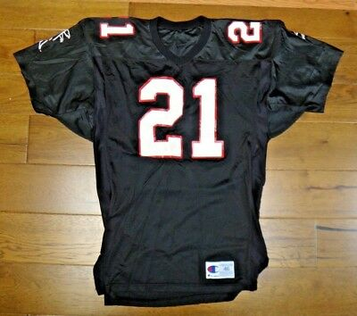 1990 s Atlanta Falcons Football  21 Zabel Game Used Issued Jersey 813456c2d
