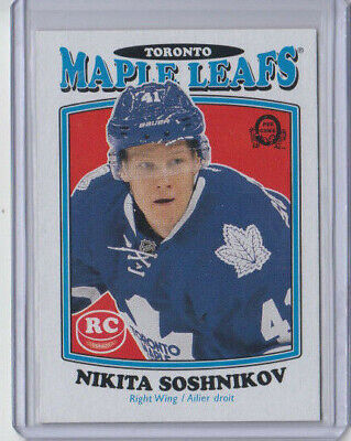 16/17 OPC Toronto Maple Leafs Nikita Soshnikov Retro Rookie RC card #579