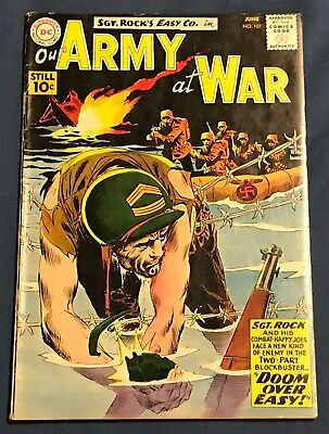 Our Army At War #107 June 1961