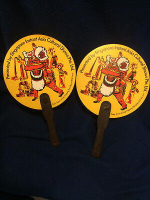 Singapore Airlines souvenir fans, 1970s Instant Asia Cultural Shows Pte. Ltd.