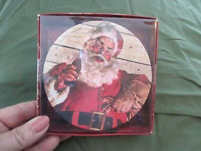 Coca-Cola Markings SANTA CLAUS Coasters set of 12 CHRISTMAS