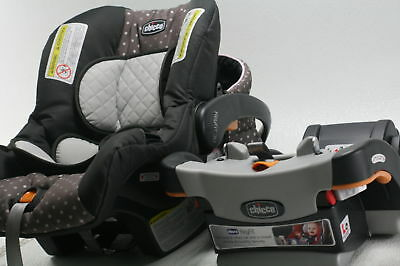 Chicco KeyFit 30 Infant Car Seat Lilla Rear Facing 5 Point Adjustable Harndess