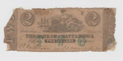 Obsolete Currency Chatanooga Tenessee low grade