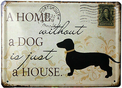 Vintage Tin signs Dog Antique metal poster for wall Home Pub Garage Bar decor