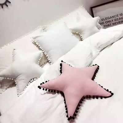Five-pointed Star Cushion Sweet Dreams Childrens Kids Nursery Pillow Soft Toy