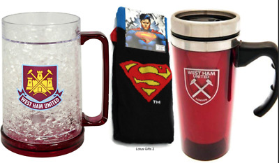 West Ham FC Gift Set Official Football Present for Birthday Xmas Fathers Day