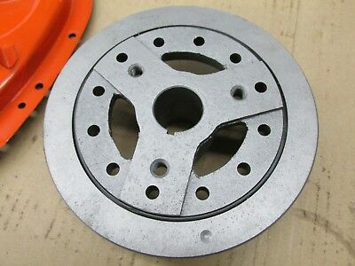 """Chevy 409 High Performance 7"""" Balancer and Timing Chain Cover 3796769 3829024"""