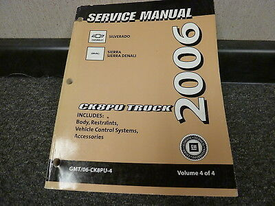 chevrolet silverado gmc sierra shop service repair manual haynes rh picclick com 2006 chevy silverado 1500 z71 owners manual 2011 Chevrolet Silverado Repair Manual