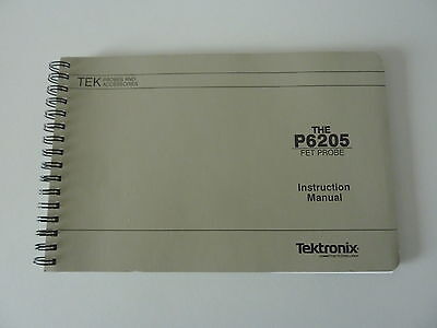 Tektronix P6205 FET Probe Instruction Manual