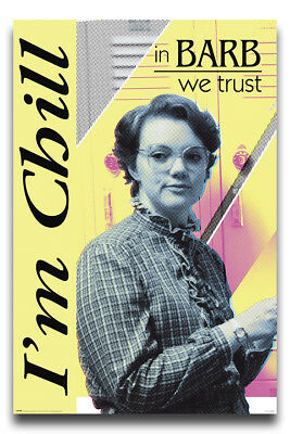 Stranger Things In Barb We Trust Poster New - Maxi Size 36 x 24 Inch