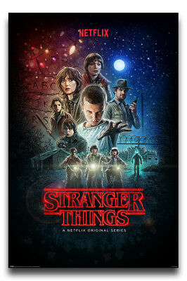 Stranger Things Netflix One Sheet Poster New - Maxi Size 36 x 24 Inch