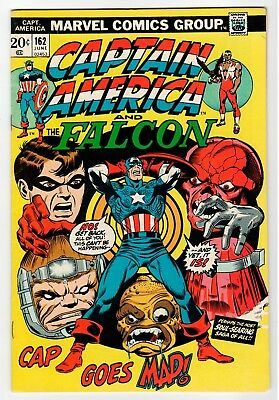 Marvel CAPTAIN AMERICA AND THE FALCON #162 - FN June 1973 Vintage Comic