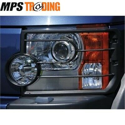 Land Rover Discovery 3 Front Head Light Guards (Pair) - Vub501200