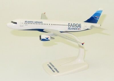 Atlantic Airways Faroe Islands Airbus A320 1/200 modellflugzeuge NEU