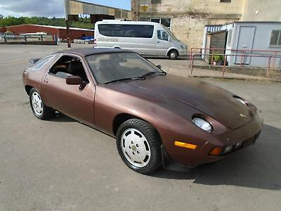 Porsche 928 S1 Auto Lhd Coupe(1979)Met Bronze Rustfree Us Import! Early No 982!