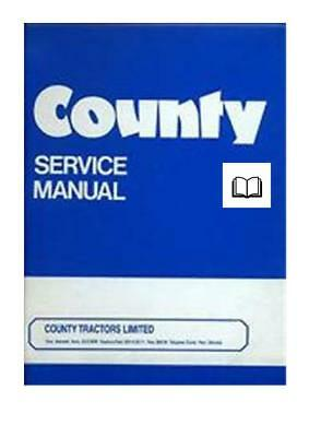 Ford County Workshop Manual Printed and Digital
