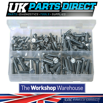 Assorted Box of Set Screws - High Tensile - UNC - 150 Pieces