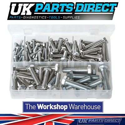 Assorted Box of Set Screws - High Tensile - Metric Fine - 140 Pieces