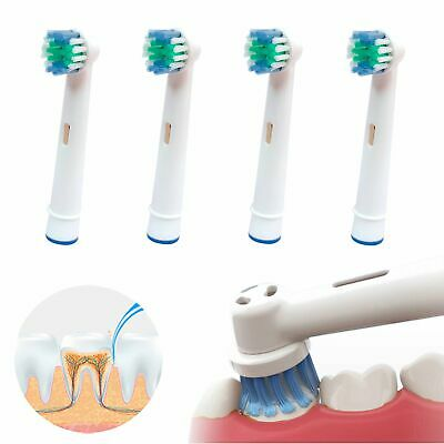 4X-20X Electric Toothbrush Replacement Brush Heads Compatible with Oral B