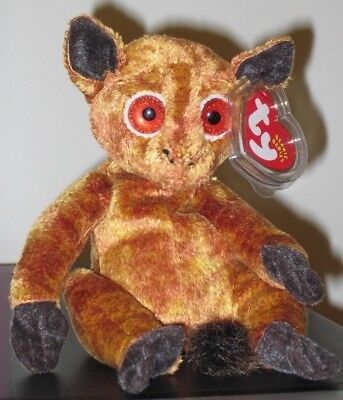 Ty Beanie Baby ~ GIZMO the Lemur ~ MINT with MINT TAGS ~ RETIRED