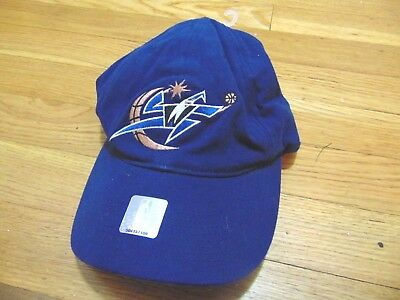 e8186196650a New Vintage Nike Nba Washington Wizards Michael Jordan Flex Fitted Hat One  Size