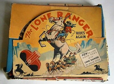 The Lone Ranger Viewer in Original Box copyright 1940 The Lone Ranger Inc.