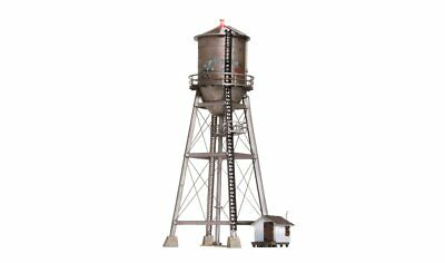 Woodland Scenics BR4954, N Scale, Built & Ready Rustic Water Tower, LED Lighting