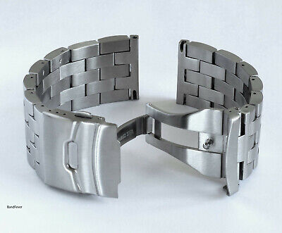 HIGH Quality Heavy Duty Stainless Steel Super Engineer Metal Watch Band Bracelet