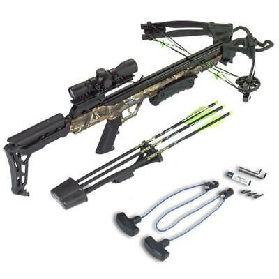 HOT DEAL Carbon Express X-Force Blade Crossbow Kit Camo  20244