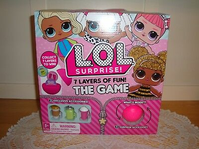 REDUCED Collectible NIB LOL Surprise Doll 7 Layers Of Fun Board Game