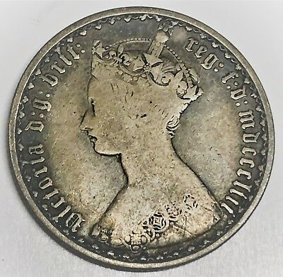 # 6819C    Great Britain   Coin,     Florin      1853