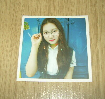 Pristin 2nd mini Album SCHXXL OUT SungYeon C Official Photo card