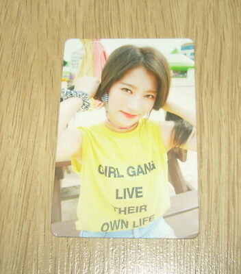 Pristin 2nd mini Album SCHXXL OUT ReNa A Official Photo card
