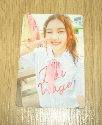 Pristin 2nd mini Album SCHXXL OUT SungYeon A Official Photo card