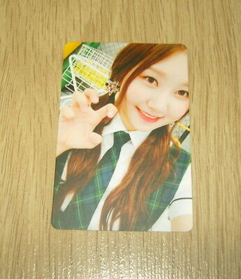 Pristin 2nd mini Album SCHXXL OUT SungYeon B Official Photo card