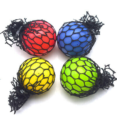 """3/"""" Squishy Mesh sensory stress reliever ball toy autism squeeze anxiety fidget"""