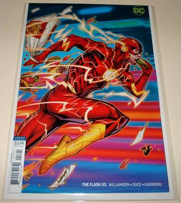 The FLASH # 53  DC Comic  (October 2018)   NM   VARIANT COVER EDITION