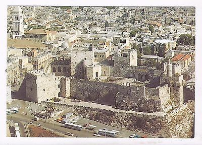 Israel ,jerusalem,  Birds Eye View- The Citadel And Jaffa Gate, Mint About 1980