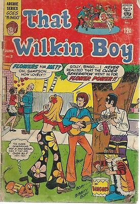 That Wilkins Boy #3 Good -. This is a reader